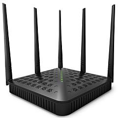 Tenda trådløs router ac1200 dual band gigabit wifi router fh1202 engelsk fastvare (us plug)