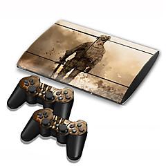 billiga PS3-tillbehör-B-SKIN Väskor, Skydd och Fodral Till Sony PS3 Originella Väskor, Skydd och Fodral pvc enhet