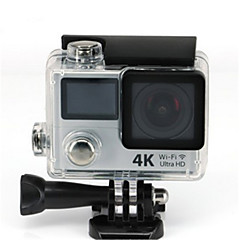 cheap Sports Action Cameras-H3E Sports Action Camera 20MP 4608 x 3456 WiFi Adjustable wireless Wide Angle 30fps No ±2EV No CMOS 32 GB H.264Single Shot Burst Mode