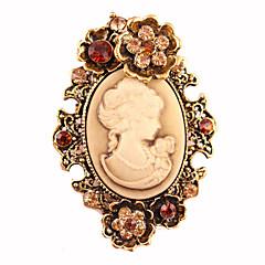 dámské módní retro slitina / štrasové brože šik pin strana / den / neformální šperky příslušenství 1ks