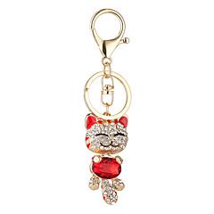 Uuden ornamentti set kaira Plutus Cat riipus ihana hymyilevät kasvot Cat riipus auton avaimenperän laukku