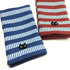 billiga Handdukar och badrockar-Tvätt handduk Färgat garn 100% Linne Fingertopp handduk