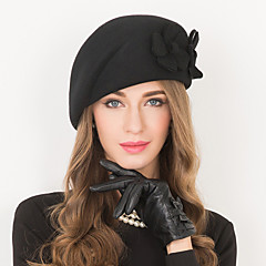 Wool Hats Headpiece Wedding Party Elegant Feminine Style Hats