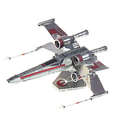 cheap -3D Puzzles Jigsaw Puzzle Metal Puzzles Model Building Kit 1pcs Fighter Aircraft 3D Furnishing Articles Novelty Creative Classic &