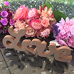 cheap -Wooden LOVE wedding decoration items Wood DIY letter furnishing articles wedding
