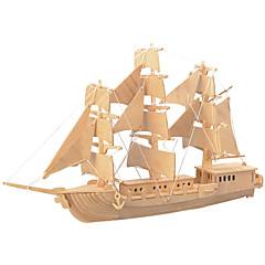 baratos -Quebra-Cabeças de Madeira Lutador Navio Nível Profissional De madeira 1pcs Crianças Para Meninos Dom