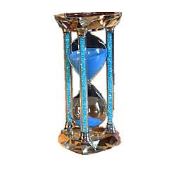 砂時計 おもちゃ 円筒形 ダイアモンド 夜光計 ノベルティ柄 調度品 男の子 女の子 1 小品