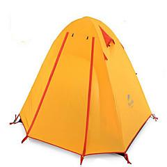 Naturehike 2 personer Beskyttelse & Presenning Telt Dobbelt camping Tent Ett Rom Turtelt Velventilert Vanntett Fort Tørring Ultraviolet