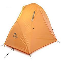 Naturehike 2 Persoons Tent Tarpen Dubbel Kampeer tent Eèn Kamer Backpackingtenten Goed-Geventileerde waterdicht Sneldrogend