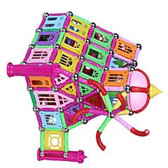Magnetisches Spielzeug Magnetsticks Bildungsspielsachen Magnetische Gebäude-Sets Spielzeuge Burg Architektur Magnetisch Neuartige Jungen