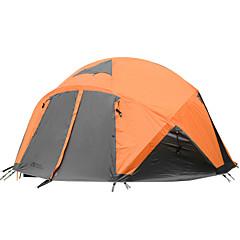 MOBI GARDEN 5-8 personer Telt Tredobbelt camping Tent Ett Rom Brette Telt Hold Varm Vanntett Bærbar Vindtett Ultraviolet Motstandsdyktig