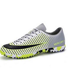 tanie Buty do biegania-Męskie / Damskie Adidasy / Piłka nożna Guma Piłka nożna / Bieganie Antypoślizgowy, Ultra lekki (UL), Wodoodporność Skóra PVC Fioletowy / Perłowo-różowy / Zielony