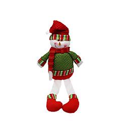 저렴한 -크리스마스 장난감 선물 백 장난감 산타 정장 눈사람 2 조각 크리스마스 선물