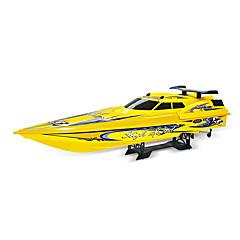 ספינת מירוץ NQD 757T 1:10 RC סירה חשמלי ללא מברשת 2 2.4G צהוב