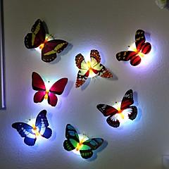 7 색깔 변화 나비는 야간 조명 램프를지도했다 고품질