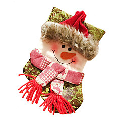Holiday Decorations Christmas Decorations Gift Bags Toys Socks Santa Suits Elk Snowman Textile Pieces Christmas Gift