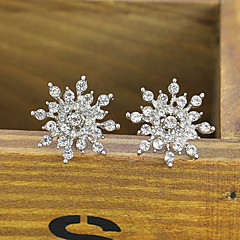 cheap Earrings-Women's Stud Earrings Crystal Jewelry Wedding Party Halloween Costume Jewelry