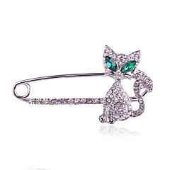 Dámské Brože Módní luxusní šperky bižuterie Umělé diamanty Šperky Pro Denní Ležérní