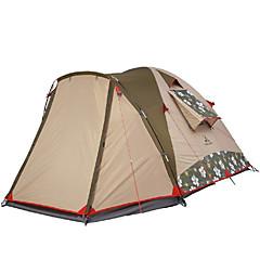 MOBI GARDEN 3-4 אנשים אוהל משולש קמפינג אוהל חדר אחד אוהלים למשפחה שמור על חום הגוף עמיד למים נייד עמיד עמיד אולטרה סגול מתקפל קל
