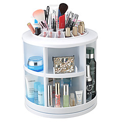 cheap Clearance-3 Colors Makeup Cosmetics Storage 1 pcs Other / 360 Rotating Daily # Classic Plastic / 360° Rotation Daily Makeup Cosmetic