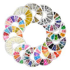 13 Sanat Dekorasyon Nail Rhinestone inciler Makyaj Kozmetik Sanat Tasarım Nail