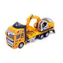 billiga Leksaker och spel-AIQILE Grävmaskin Leksakslastbilar och -byggmaskiner Leksaksbilar Originella Plast Metall Barn Leksaker Present