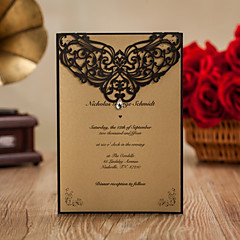 cheap Wedding Invitations-Top Fold Wedding Invitations 50 - Engagement Party Cards Bachelorette Party Cards Invitations Sets Invitation Cards Save The Date Cards