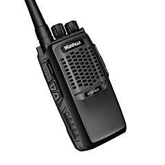 billige Walkie-talkies-wanhua 825 Walkie-talkie Håndholdt / Dobbelt bånd Programmeringskabel / Strømsparefunksjon >10 km >10 km 6 W Walkie Talkie Toveis radio