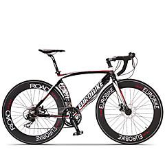 お買い得  自転車-コンフォートバイク ロードバイク サイクリング 14スピード 26 inch/700CC SHIMANO ST A070 ディスクブレーキ ノーダンパー アルミフレーム ノーダンパー 普通 アンチスリップ アルミニウム合金