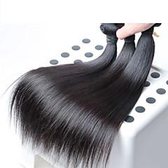 billige Remy fletninger af menneskehår-3 stykker / masse billige malaysiske hår vævning, malaysiske hår væve løs krøllet