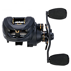 cheap Fishing Reels-Fishing Reel Baitcasting Reels 6.3:1 Gear Ratio+14 Ball Bearings Left-handed Right-handed Sea Fishing Spinning Jigging Fishing Freshwater