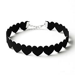 שרשראות מחרוזת תכשיטים Circle Shape Heart Shape Animal Shape ברבור פלנלית עיצוב מעוגל אהבה מעגל פרחוני Euramerican סגנון חמוד תכשיטים עבור