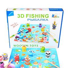 Lievittää stressiä Muuttumisleikit kalastus Lelut Lelut Kalat 3D Lasten 1 Pieces