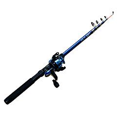 billiga Fiskespön-Fiskesp Telespin-spö FRP Generellt fiske Fiskespön + Fiskerullar