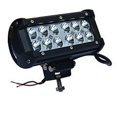 olcso -36W LED-es autós munkalámpa 6000K fehér LED fényvető jeep reflektorfénybe fényszóró terepjáró offroad ATV teherautó suv hajó dc12-24v