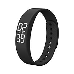 DMDG T5S Chytrý náramek Chytré hodinky Voděodolné Spálené kalorie Krokoměry Cvičební tabulka Sportovní Budík Časovač Android