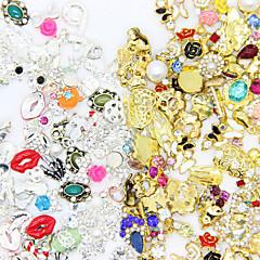 50pcs Декор для нейл-арта горный хрусталь жемчуг макияж Косметические Ногтевой дизайн