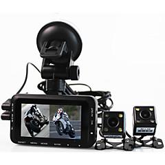 motocicleta gravador de condução câmera de esportes de equitação locomotiva separada lente dupla à prova de água