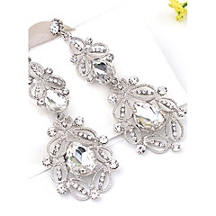 cheap Earrings-Drop Earrings Crystal Crystal Alloy Jewelry Party Daily Casual Costume Jewelry
