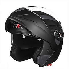GXT 158 오토바이 헬멧 더블 렌즈 안티 안개 통기성 전체 헬멧
