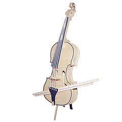 cheap -Wooden Puzzle Violin Musical Instruments Cello Professional Level Wood 1pcs Gift