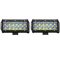 cheap Daytime Running Lights-2PCS 60W Spot LED Work Light Car Truck Boat Driving Fog Offroad SUV 4WD Bar Foglight LED Work Light  Lamp Tractor Truck SUV ATV Offroad