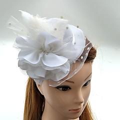 Tul Pană Net Diadema-Nuntă Ocazie specială Pălărioare Flori Pălării/Căciuli 1 Bucată