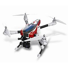 billige Fjernstyrte quadcoptere og multirotorer-RC Drone WL Toys X500 6CH 6 Akse 2.4G Uten kamera Fjernstyrt quadkopter LED Lys En Tast For Retur Auto-Takeoff Feilsikker Hodeløs Modus