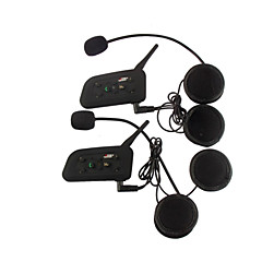 baratos Fones para Capacetes de Motocicleta-Motocicleta VNETPHONE Cascos auriculares