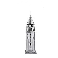 cheap -3D Puzzle / Jigsaw Puzzle / Metal Puzzle Tower / Famous buildings DIY / Classic Boys' Gift