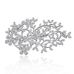 perla strasuri din aliaj de stras cercei cap de stil elegant