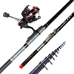 ボートロッド 鯉釣りロッド 釣り竿 釣り竿 + リール 鯉釣りロッド カーボン 360 M 川釣り その他 鯉釣り 一般的な釣り ロッド シルバー-xionghuo
