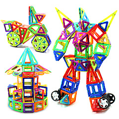 KEAIHAO צעצועים מגנטיים אבני בניין צעצוע חינוכי בלוקים מגנטיים מגדיר בניין מגדיר צעצועים צעצועים ריבוע מעגלי משולש מגנטי מודרני, חדשני