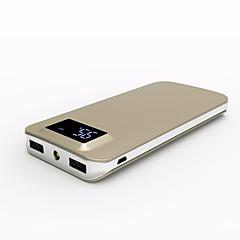 baratos Baterias Externas-Para Bateria externa do banco de potência 5 V Para # Para Carregador de bateria Lanterna / Output Múltiplo / QC 2.0 LCD / QC 3.0
